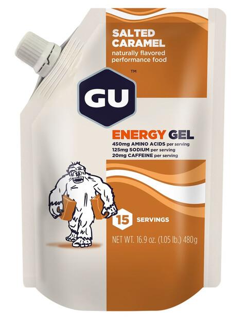 GU Energy Gel Vorratsbeutel Salted Caramel 480g
